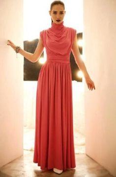 Vestido Longo Chique produzido por napassarela no AIRU