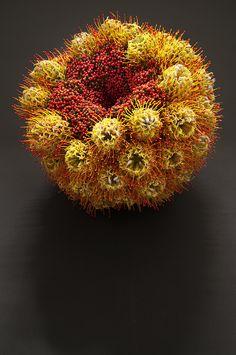 Sculture d'art floral