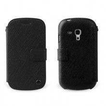 Custodia Samsung Galaxy S3 mini Zenus Prestige Minimal Diary - Nero  € 29,99