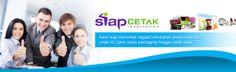 SiapCetak.in melayani pembuatan cetak id card, cetak packaging, cetak brosur dan cetak kaos di jogja