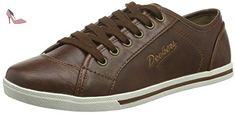 Dockers by Gerli by Gerli  27CH247-610410, Sneakers Basses femme - Marron - Braun (reh 410), 40 EU - Chaussures dockers by gerli (*Partner-Link)
