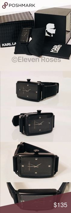 I just added this listing on Poshmark: Karl Lagerfeld Black Steel & Silicon Tank Watch. #shopmycloset #poshmark #fashion #shopping #style #forsale #Karl Lagerfeld #Other