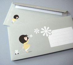 Ob geschäftlich oder privat dieser Briefumschlag kommt immer gut an. Verschick doch einfach mal Schöne Frühlings Grüße :  )    – 10er Pack Briefumschl