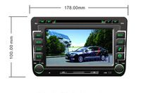 HD 1024*600 Quad Core 16G 7'' Pure Android 4.4.4 Car DVD Player for SKODA FABIA 2005-2010 for SKODA SUPERB 2005-2009 Free Ship