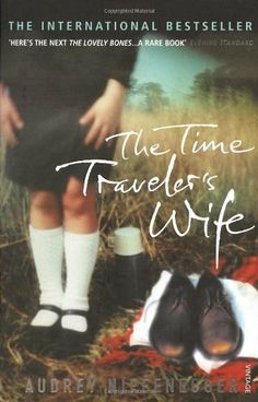 The Time Traveler's Wife by Audrey Niffenegger, http://www.amazon.co.uk/dp/0099464462/ref=cm_sw_r_pi_dp_bGcktb12SQHAW
