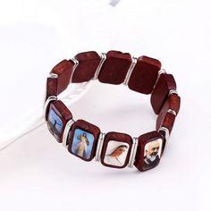 Faith - Saint image Image Mix, Saints, Jewelry Accessories, Bracelets, Jewellery, Women, Style, Fashion, Swag