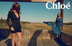 Spring-Summer 2014 campaign #fashion #chloe