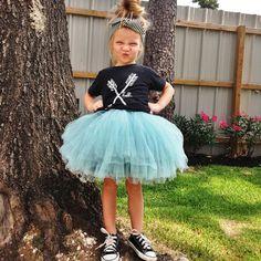 Arrows (Kids) Black Tri-Blend T-Shirt - Hello Apparel - Hello Merch Teen Girl Outfits, Little Girl Outfits, Little Girl Fashion, My Little Girl, Kids Outfits, Kids Fashion, Converse Outfits, Tutu Outfits, Toddler Girls