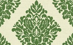 Damask Wallpaper in Greens and White - eclectic - wallpaper - Burke Decor Eclectic Wallpaper, Modern Wallpaper Designs, Damask Wallpaper, Green Wallpaper, Wallpaper Online, Home Wallpaper, Designer Wallpaper, Pattern Wallpaper, Washable Wallpaper