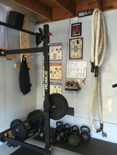 90 best the garage gym. images in 2019 crossfit garage gym at