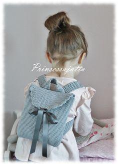 Princess Story: Crochet backpack No.2