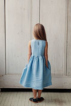 Beautiful Handmade Linen Dress | SondeflorShop on Etsy