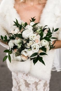 Country Music Hall of Fame Wedding- Wedding flower inspiration for Winter brides. This winter wedding took place at Country Music Hall of Fame in Nashville. Floral: Wildflowers LLC Photo: Nyk and Cali Photography Winter Wedding Fur, Winter Wedding Flowers, Spring Wedding, Wedding Colors, Winter Weddings, Christmas Wedding, Mauve Wedding, Blush Bridal, Wedding Decor