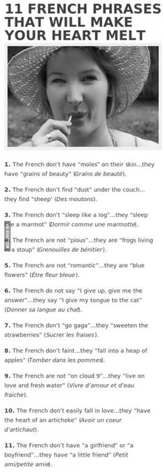 French language, episode 2 : It can also be lovely...