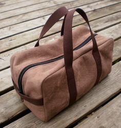 Intrepid Duffle Bag Pattern by Guy Latulippe