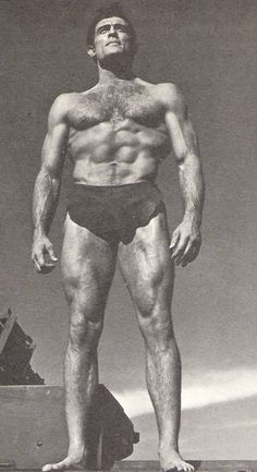 Mike Henry in 1966's Tarzan and the Valley of Gold. He had the Tarzan physique