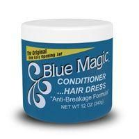 Blue Magic Conditioner Hair Dress About The Original Anti-Breakage Formula Blue Magic Conditioner/Hair Dress is formulated to give effective hair conditioning for days without being greasy Keeps hair natural & lustrous Promotes a healthier hair & scalp condition Moisture-resistant formula will give a special luster to your hair & help prevent dryness, breakage & split ends. Directions Apply to the hair and scalp, using fingertips to massage in thoroughly. Style as desired. When t How To Grow Natural Hair, Natural Hair Styles, Best Hair Conditioner, Grease Hairstyles, Scalp Conditions, Hair Lotion, Deep Conditioning Treatment, Blue Magic, Magic Hair