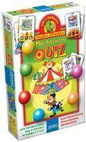 Obrazkowy Quiz dla przedszkolaków. W trakcie gry zapraszamy dzieci do rozwiązywania obrazkowych zadań. Dzieci same, bez pomocy dorosłych mogą sprawdzić czy dobrze odpowiedziały na pytanie.