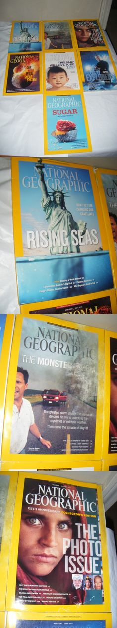 Magazines: Lot Of 7 National Geographic Magazines 2013 Issues May To November Magazine Geo -> BUY IT NOW ONLY: $11 on eBay!