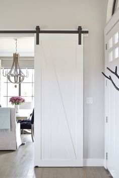 ZDesign At Home: A Welcome Barn Door Addition to Our Home