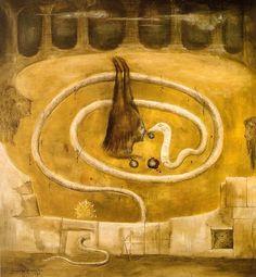 Leonora Carrington, Forbidden Fruit 1969