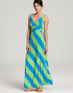 love the maxi dress - big points for modesty in the bust/cleavage area - makes them very wearable with little kids!