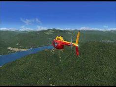 FSX Bell 206B /Lugano (LSZA) - Locarno (LSZL) - YouTube
