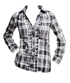Grey Button-Up Shirt (CLEARANCE) - $10 Button Up Shirts, Cool Style, Long Sleeve Shirts, Plaid, Blazer, Tank Tops, Chic, Grey, Sweaters