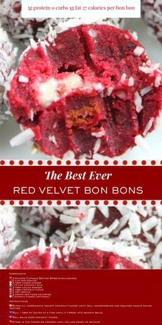 These red velvet protein bites want to be your Valentine! Stay on track while satisfying your sweetheart cravings all month long! Milkshake Cupcakes, Protein Milkshake, Protein Bites, Organic Protein Powder, Whey Protein Powder, Popular Food, Popular Recipes, Party Food And Drinks, Natural Flavors