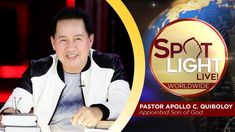 Watch another episode of Pastor Apollo C. Quiboloy's newest program, SPOTLIGHT. For your messages and queries, you can comment it down below so our Beloved P. Hanging Planter Boxes, January 6, Kingdom Of Heaven, T Lights, New Program, Great Leaders, Son Of God, The Life, Jerusalem