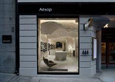 Aesop's store no. 100 by Snøhetta
