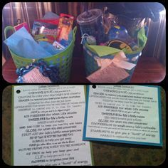 College Gag Gift Survival Kit. Found everything @ Dollar Store & Walmart. Came up with some funny sayings (thanks to other pinners for the ideas) for each item. They loved them & first aid kit is proving very useful for college!