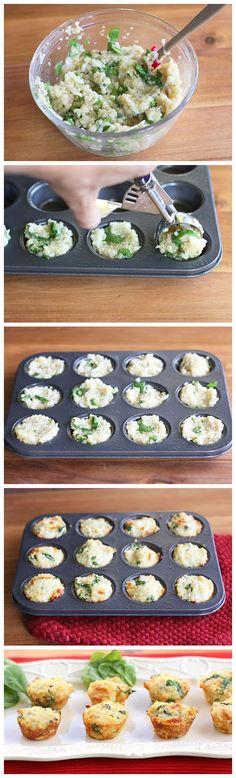 Quinoa Omelette Bites from Normal Recipe