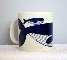 Vintage 1979 Taylor and Ng La Baleine Whale by CkshopperVintage