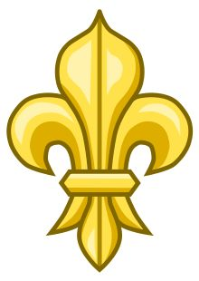 There are several interpretations to the Fleur-di-lis. In the beginning it had representation from the bible, as the lilly was used to represent Mary. We think of it as being only French, but this is not the case. Another meaning was that each branch of the lilly stood for, those who fight, those who rule and those who pray.