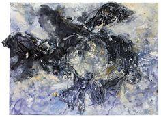 "Genesis 29, Acrylic Carbonate, Carbon, Graphite, Emulsion and Pigments on paper, 24"" x 18"", $500, http://transformgallery.com/Erick-sanchez/"