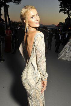 2016 Cannes Film Festival amfAR gala | Paris Hilton [Photo: Stephane Feugere]