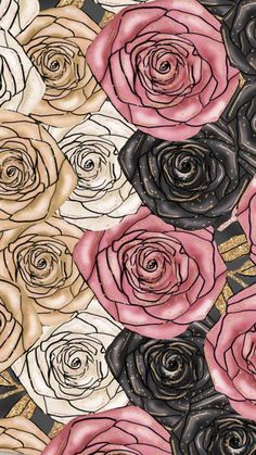 ced10da8a Rose Wallpaper, Screen Wallpaper, Iphone Wallpaper, Iphone Backgrounds,  Cute Wallpapers, Background