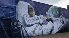 A Dabbing Space Monkey Mural Causes Quite The Stir in Portland - GREEN RUSH DAILY