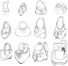 layout drawing of leather goods - Google Search