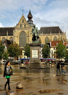 The Pieter Paul Rubens statue, Antwerp, Belgium