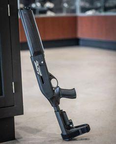 Survival Rifle, Hidden Gun Storage, Tactical Shotgun, Security Tools, Custom Guns, Military Guns, Cool Guns, Modern Warfare, Guns And Ammo