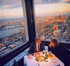 Top Of The Hub Restaurant Prudential Center Boston Ma Remember Table