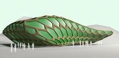 3DS Max: Tessilations & Modifiers organic architecture