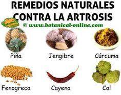 remedios naturales con plantas medicinales para la artritis y artrosis