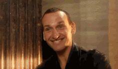 Christopher Eccleston Happy
