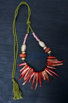 Spicy Tribal DIY Statement Necklace