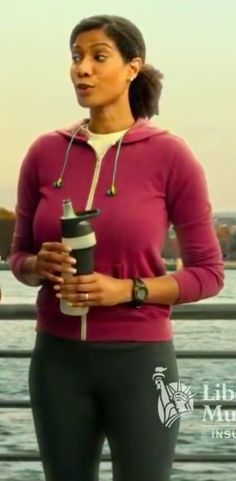 Hot black woman on liberty mutual commercial