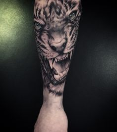 Tiger Tattoo by Rebeccas Tattoo Studio