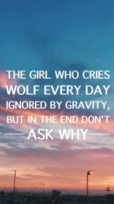 5sos lyrics the girl who cried wolf - Google Search